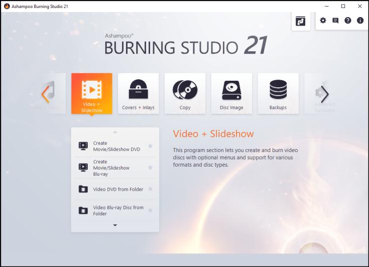 دانلود نرم افزار Ashampoo Burning Studio