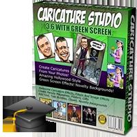 آموزش ساخت کاریکاتور توسط نرم افزار Caricature Studio