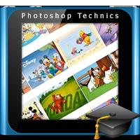 آموزش چیدن عکس در فتوشاپ به صورت خودکار