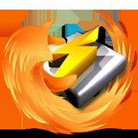 نوار کنترل نرم افزار Winamp برای مرورگر Firefox