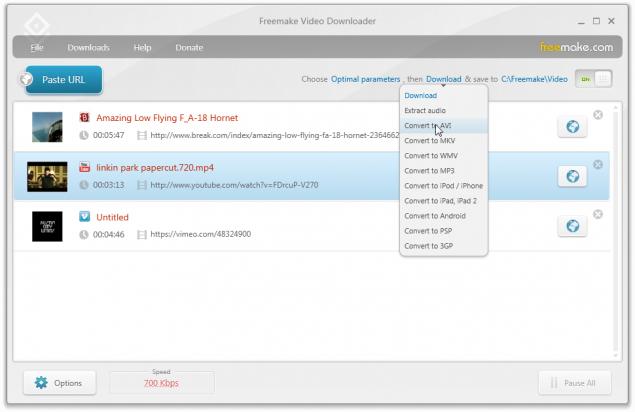 دانلود نرم افزار Freemake Video Downloader