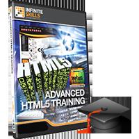 آموزش پیشرفته HTML5 و CSS3 از شرکت InfiniteSkills