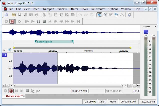 دانلود نرم افزار Sound Forge