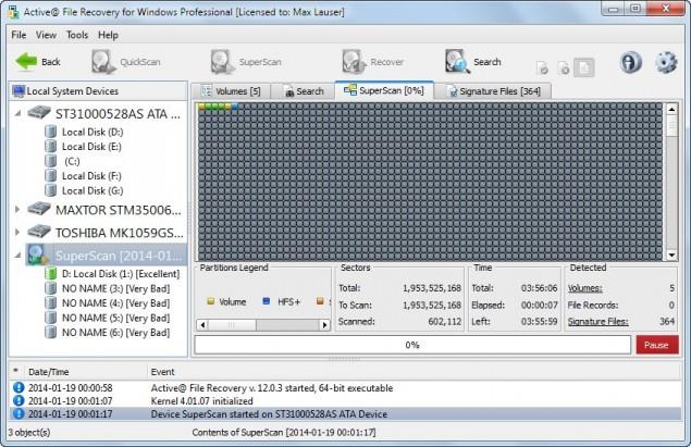 دانلود نرم افزار Active@ File Recovery