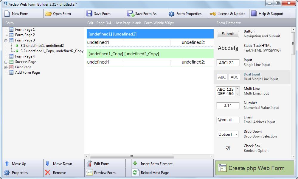 دانلود نرم افزار Arclab Web Form Builder