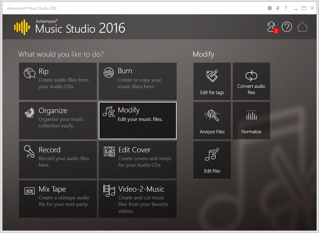 دانلود نرم افزار Ashampoo Music Studio