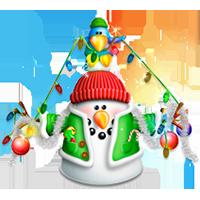 المنتهای نمایشی با موضوع کریسمس برای زیباسازی دسکتاپ