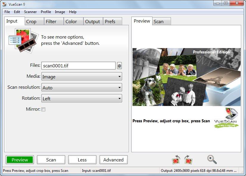 دانلود نرم افزار VueScan