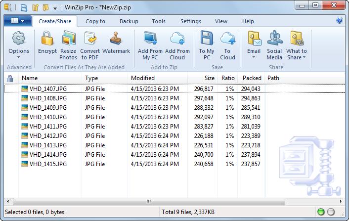 دانلود نرم افزار WinZip Pro