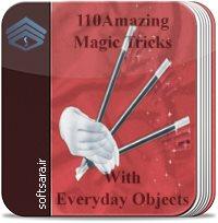 کتاب ۱۱۰ شعبده بازی شگفت انگیر با اشیا عادی