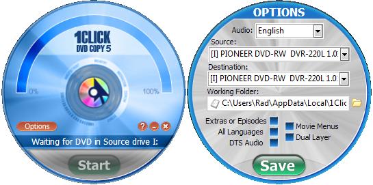 دانلود نرم افزار 1Click DVD Copy