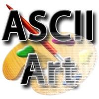 ایجاد اشکال زیبا با استفاده از کارکترهای متنی (ASCII)