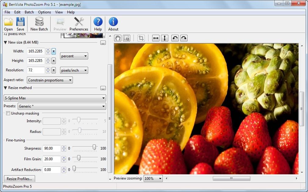 دانلود نرم افزار PhotoZoom