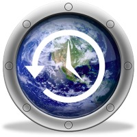نمایش ساعات نقاط مختلف جهان