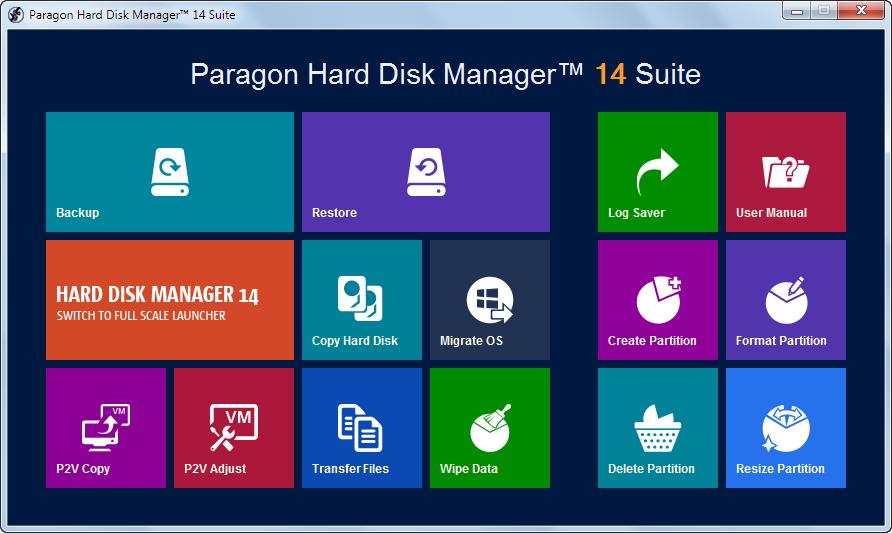دانلود نرم افزار Paragon Hard Disk Manager