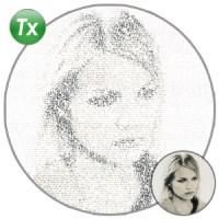 نقاشی با متن و کدهای ASCII