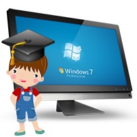 آموزش ویندوز 7 برای کودکان