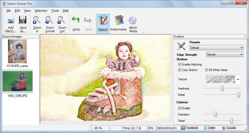 دانلود نرم افزار Sketch Drawer