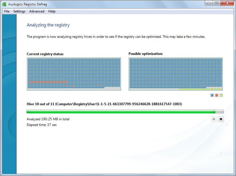 دانلود نرم افزار Auslogics Registry Defrag