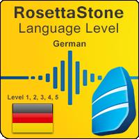 سطوح آموزشی زبان آلمانی Rosetta Stone به همراه آموزشهای صوتی و کتابها