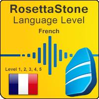 سطوح آموزشی زبان فرانسوی Rosetta Stone به همراه آموزشهای صوتی و کتابها