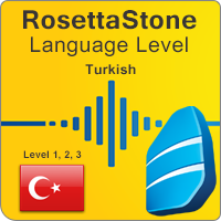 سطوح آموزشی زبان ترکی (استانبولی) Rosetta Stone به همراه کتابها