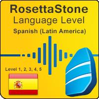 سطوح آموزشی زبان اسپانیایی (آمریکای لاتین) Rosetta Stone به همراه آموزشهای صوتی و کتابها