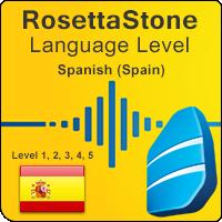 سطوح آموزشی زبان اسپانیایی Rosetta Stone به همراه آموزشهای صوتی و کتابها