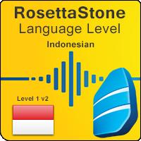 سطوح آموزشی زبان اندونزیایی Rosetta Stone به همراه کتابها