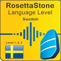 سطوح آموزشی زبان سوئدی Rosetta Stone به همراه کتابها