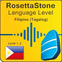 سطوح آموزشی زبان فیلیپینی (تاگالوگ) Rosetta Stone به همراه آموزشهای صوتی و کتابها