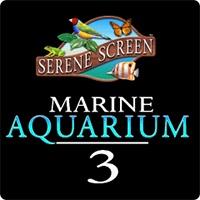 محافظ صفحه نمایش در قالب یک آکواریوم سه بعدی زیبا پر از ماهیهای رنگارنگ