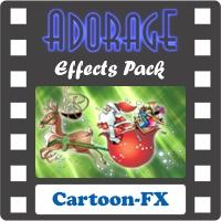 افکتها و ترانزیشنهای کارتونی مناسب برای میکس کودکان (افکتهای نرم افزار ادورج)