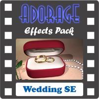 افکتها و ترانزیشنهای متنوع در زمینه Wedding و جشن عروسی (افکتهای نرم افزار ادورج)