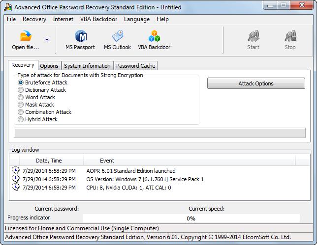 دانلود نرم افزار Advanced Office Password Recovery