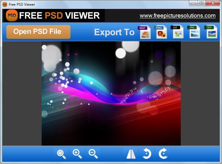 دانلود نرم افزار Free PSD Viewer