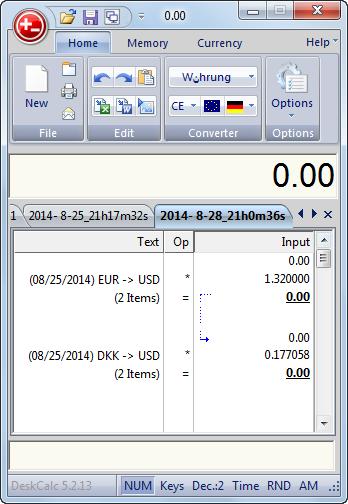 دانلود نرم افزار DeskCalc