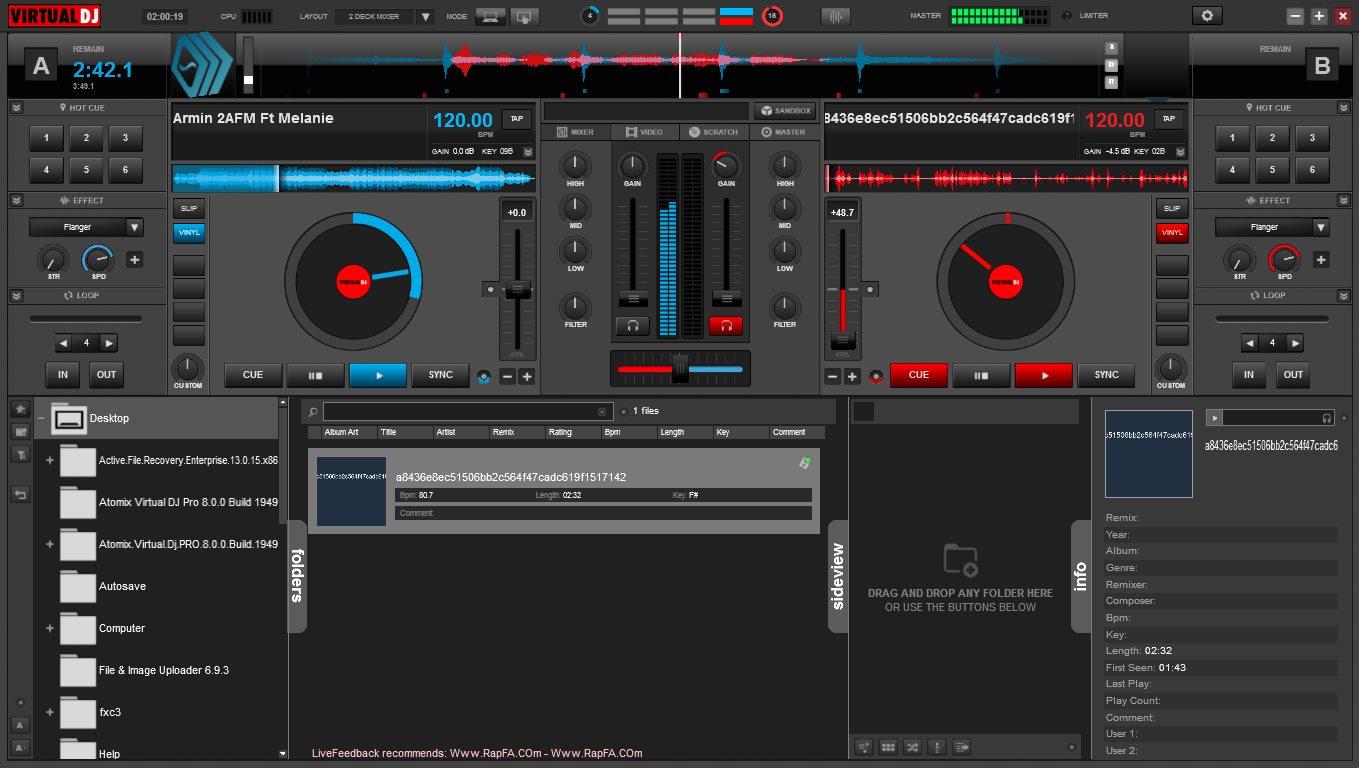 دانلود نرم افزار Atomix Virtual DJ Pro