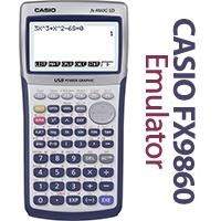 ماشین حساب شبیهسازی شده Casio fx-9860G SD