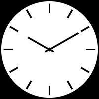 آموزش و تمرین ساعت