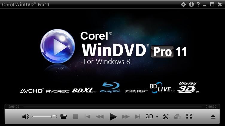 دانلود نرم افزار Corel WinDVD Pro