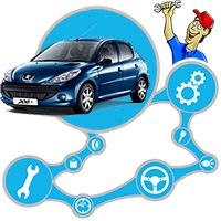 آموزش مکانیک و تعمیرات خودروی پژو ۲۰۶ (Peugeot)
