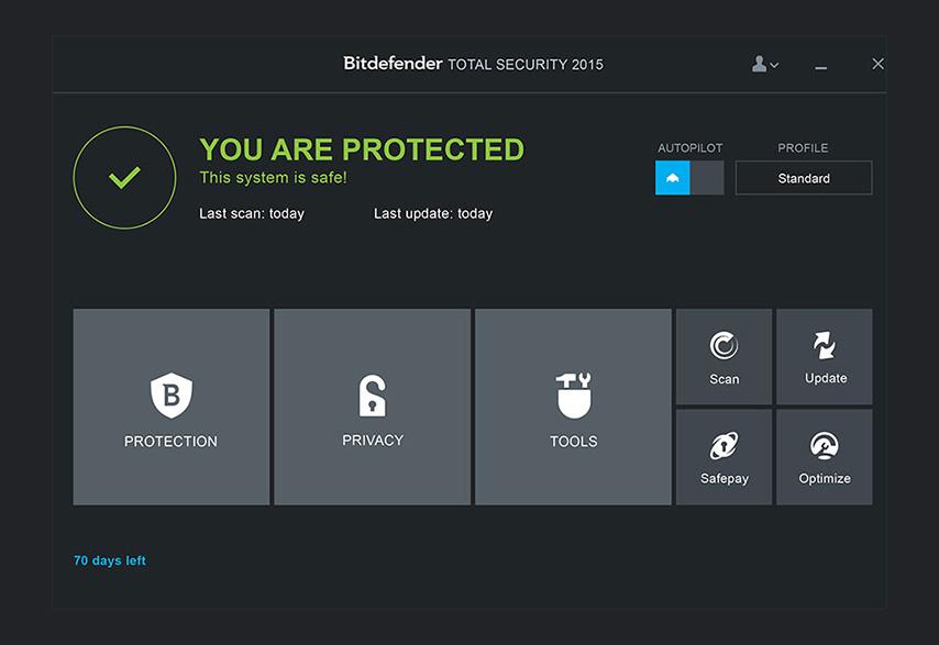 دانلود نرم افزار BitDefender Total Security