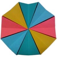 آموزش ساخت اوریگامی حلقه جادویی