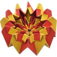 آموزش ساخت اوریگامی زیبای آتش بازی