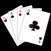 بر زدن دستهای کارتهای بازی بدون تغییر در ترتیب آنها