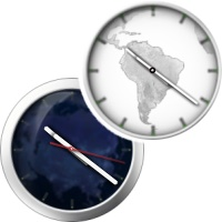 ساعت دیواری جهانی با امکان نمایش زمان ناحیه جغرافیایی مورد نظر