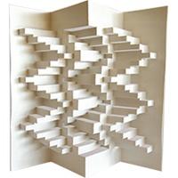 ساخت یک طرح سه بعدی و زینتی با کاغذ