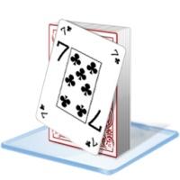 ناپدید کردن نیمی از کارتهای بازی با یک حرکت (شعبده بازی)