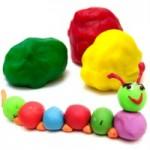 اموزش ساخت خمیر بازی توسط مواد غذایی